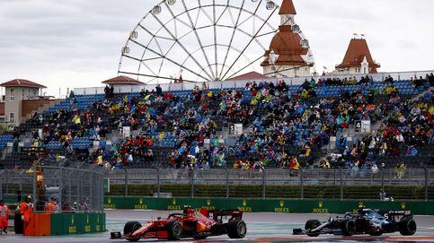 Carlos Sainz (2º) roza la pole con un zarpazo, Alonso (6º) y nuevo error de Hamilton (4º)