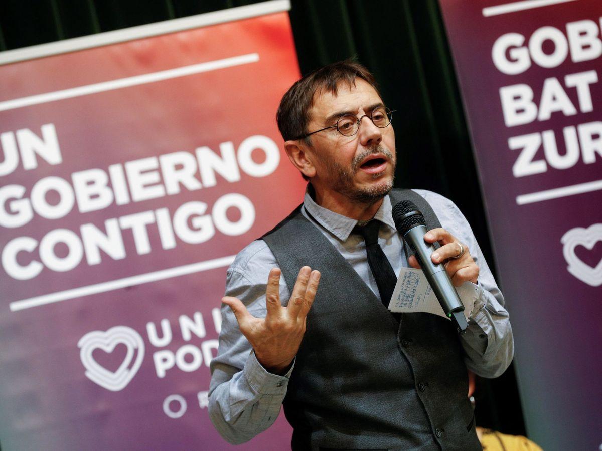 Foto: El cofundador de Podemos Juan Carlos Monedero. (EFE)