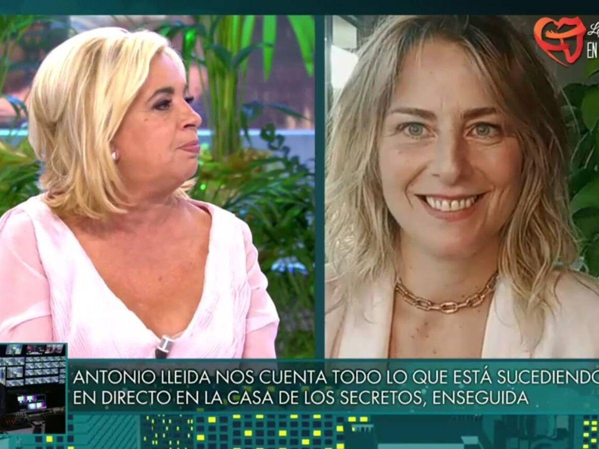 Foto: Borrego y Gabriela Arrocet. (Telecinco).