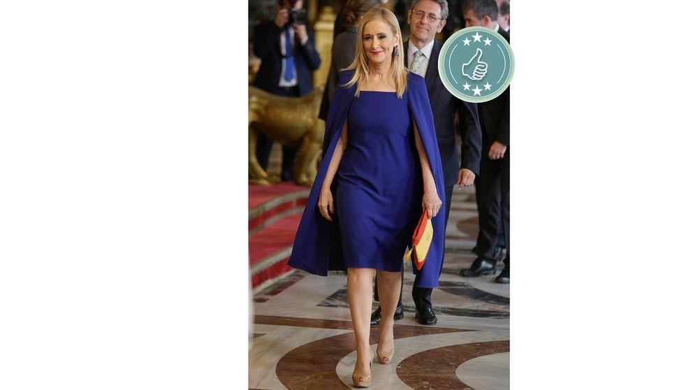 De Cristina Cifuentes a Mª Teresa Campos: las mejor y peor vestidas de la recepción en palacio por la Fiesta Nacional