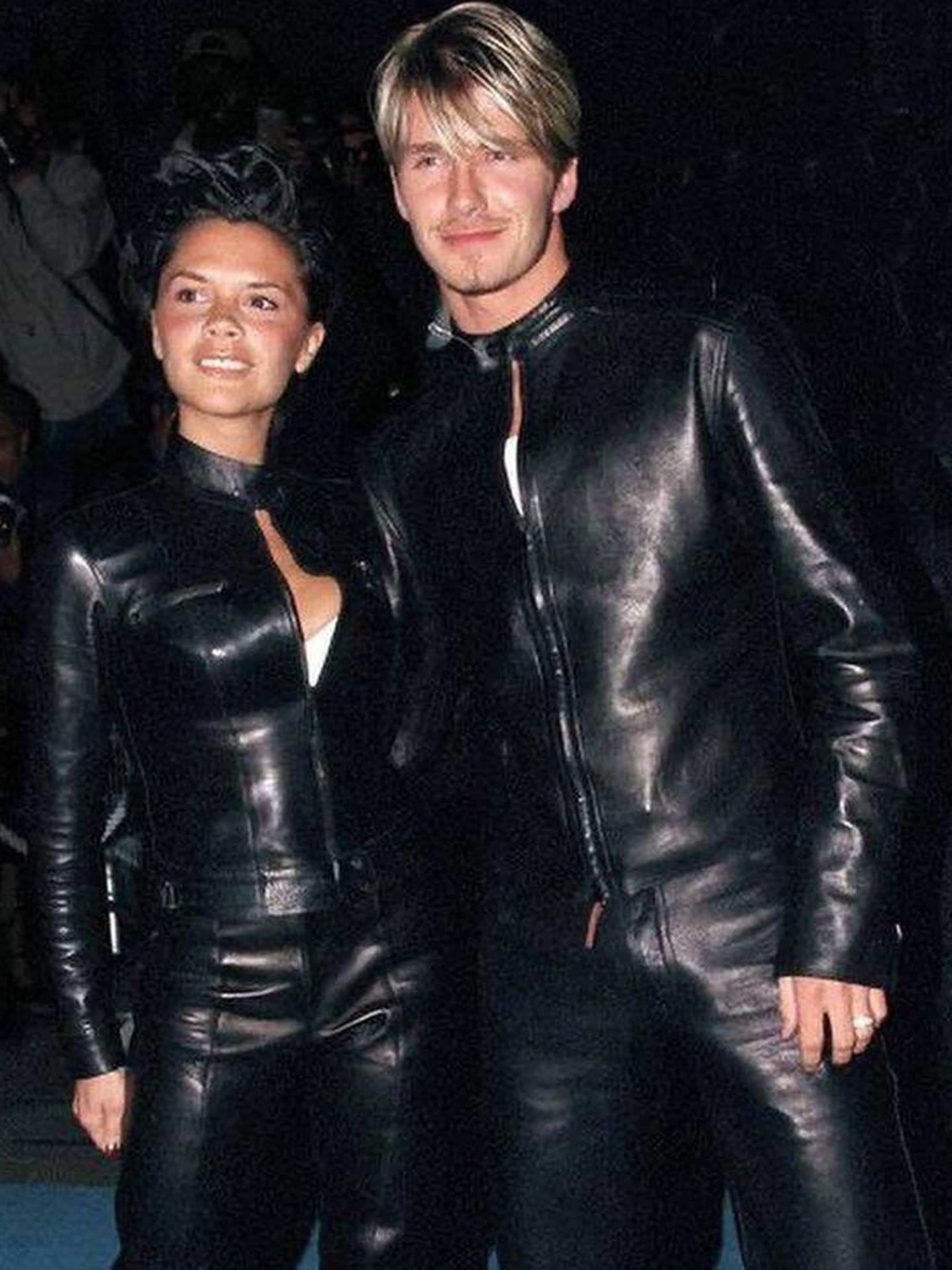David y Victoria Beckham, en 1998. (Instagram @davidbeckham)