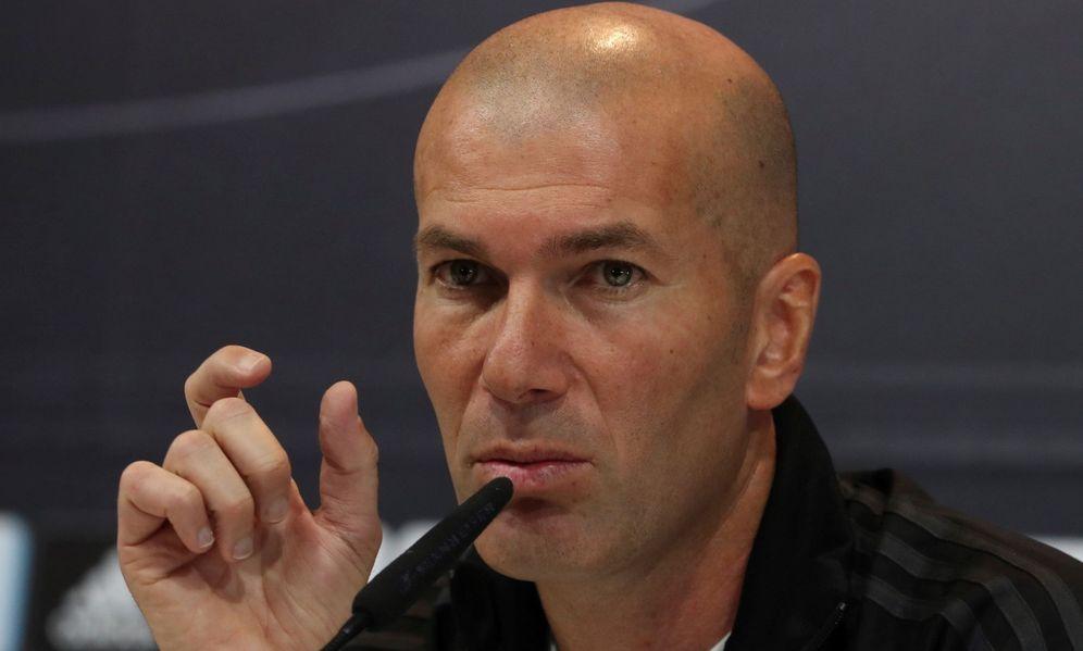 Foto: Zinedine Zidane, cada día más señalado. (EFE)