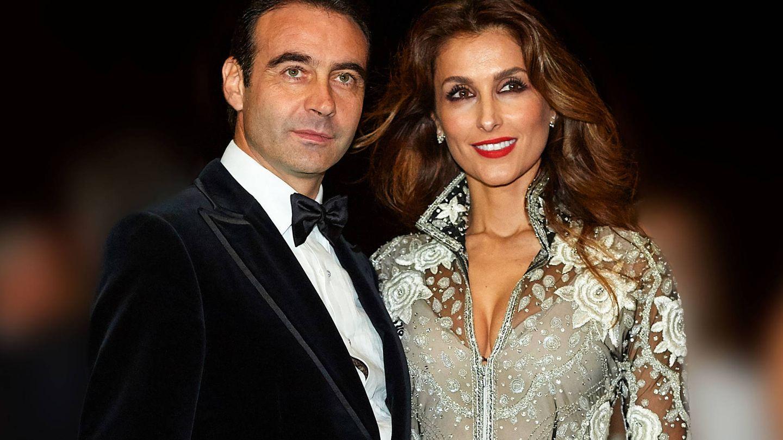 Enrique Ponce y Paloma Cuevas. (Getty)
