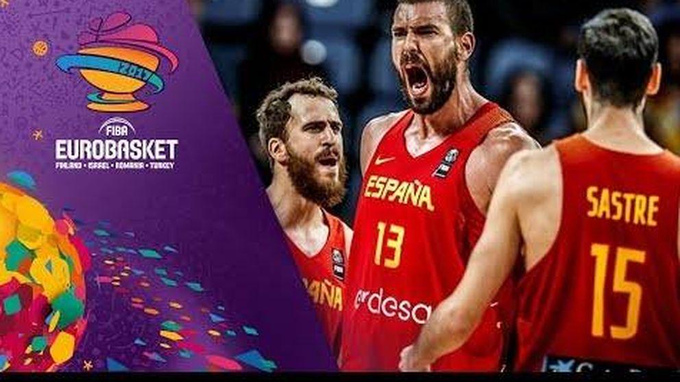 Así celebró España la clasificación para semifinales del EuroBasket