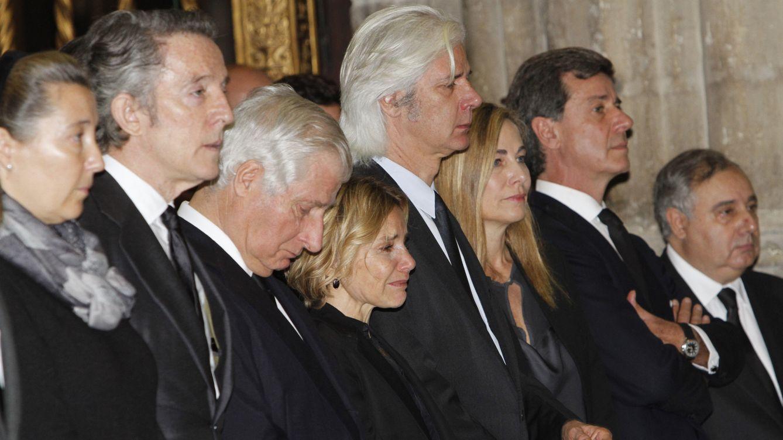 Foto: En el entierro de la duquesa de Alba (Gtres)