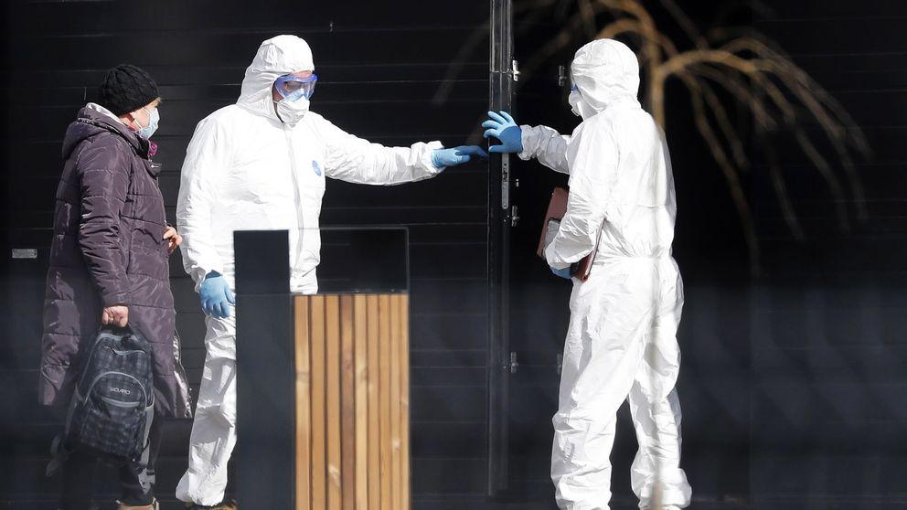 Los ricos rusos compran respiradores para protegerse del coronavirus