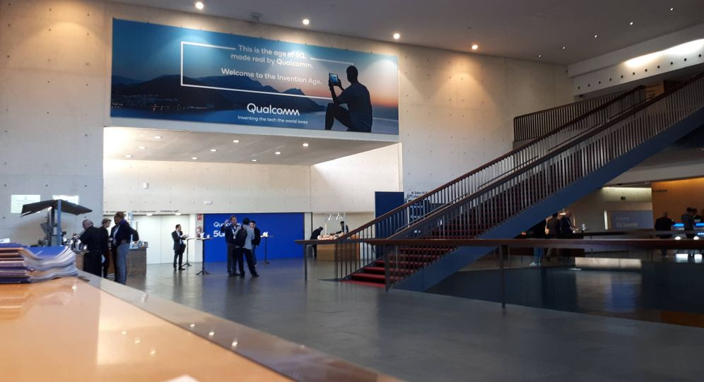 Foto: Congreso 'Qualcomm' de tecnología 5G en Barcelona. (R.M)