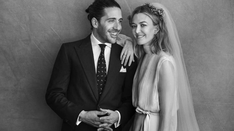 Marta Ortega y Roberto Torretta. (Peter Lindbergh)