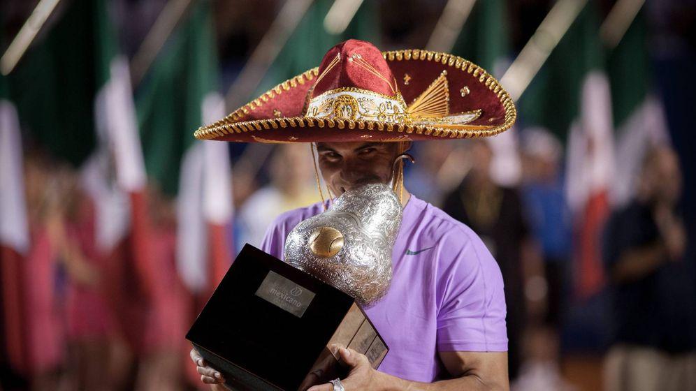 Foto: Rafa Nadal, en México. (Cordon Press)