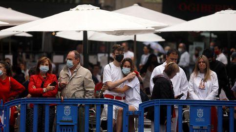 La Policía disuelve un botellón donde había unas 600 personas en Pamplona