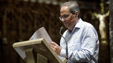 El soberanismo reza en Montserrat por su causa y por el diálogo tras la sentencia
