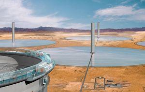 La torre solar, un obsoleto invento español rescatado por la ciencia extranjera