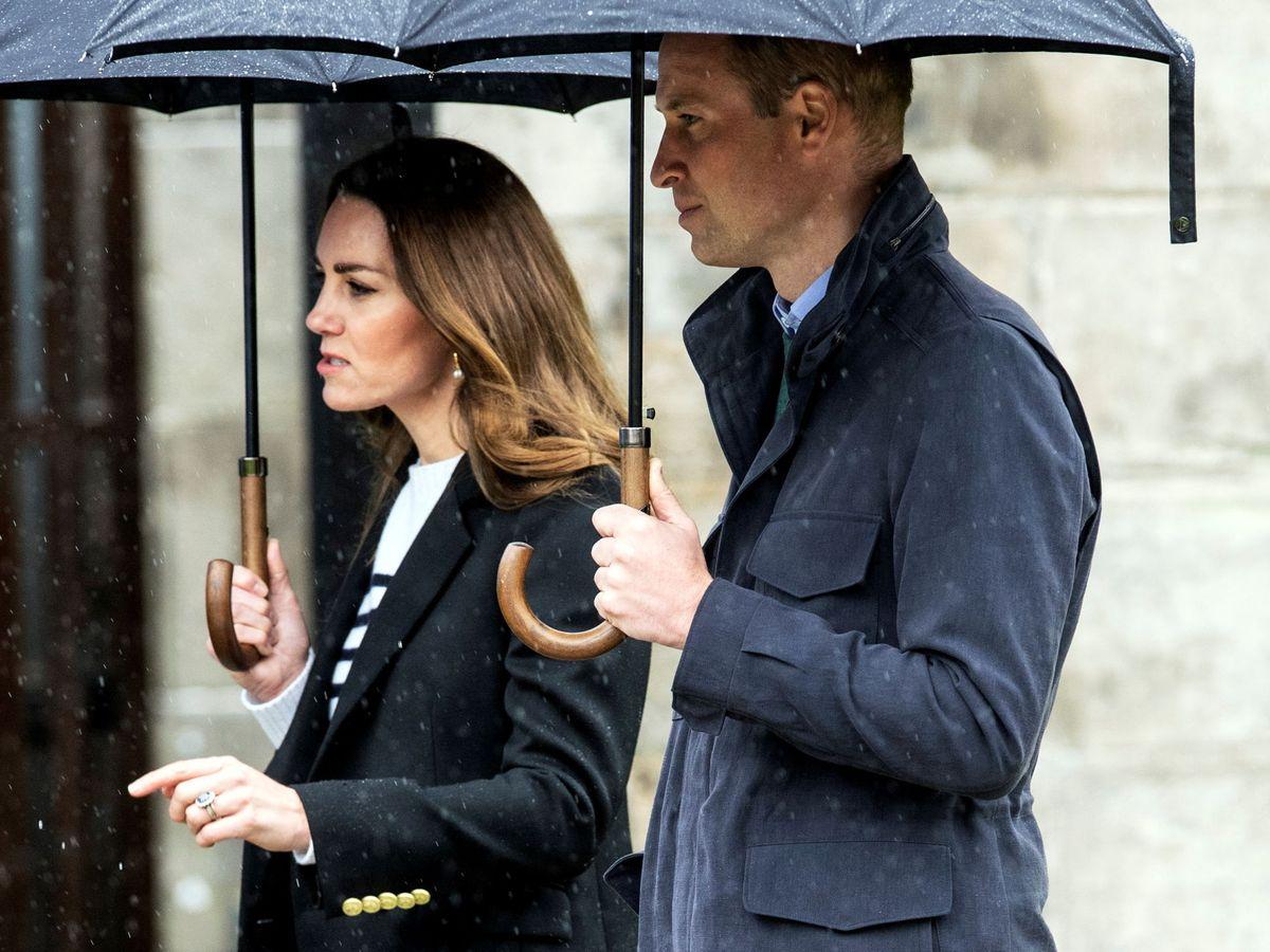 Foto: Los duques de Cambridge, en la Universidad de Saint Andrews. (Reuters)