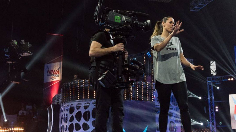 Amaia Valdemoro en 'Ninja Warrior'.