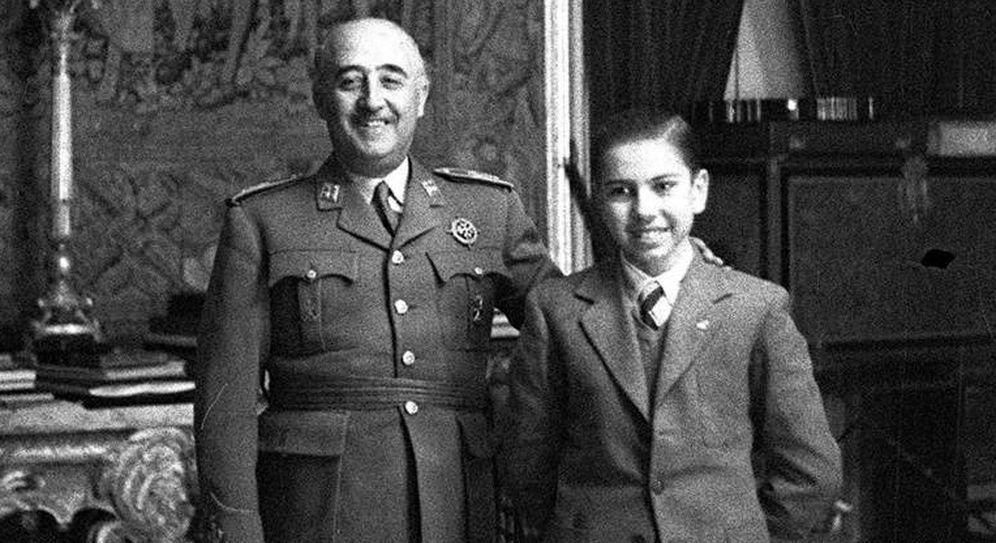 Foto: Francisco Franco y Arturo Pomar. (EFE)
