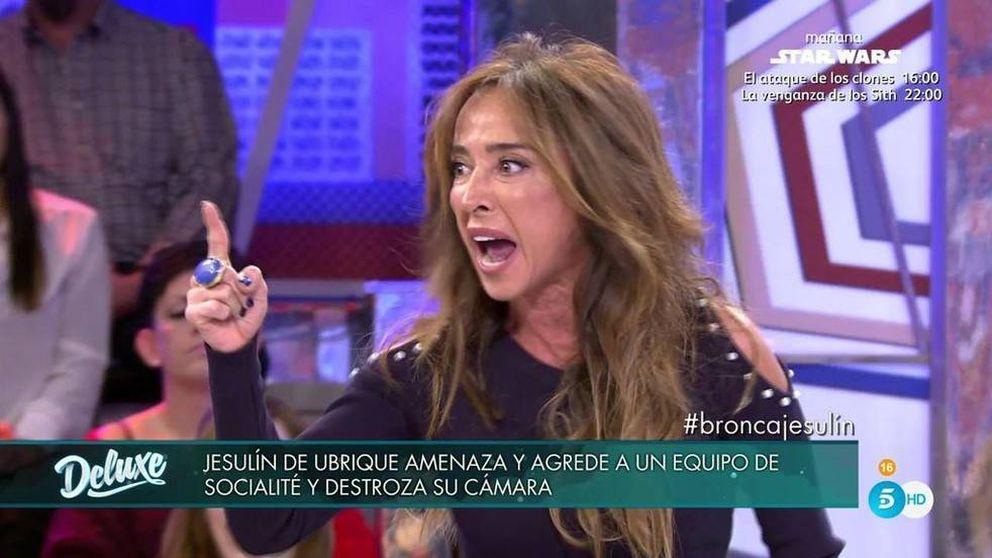 María Patiño enfurece contra Arrabal para defender a 'Socialité' en el 'Deluxe'