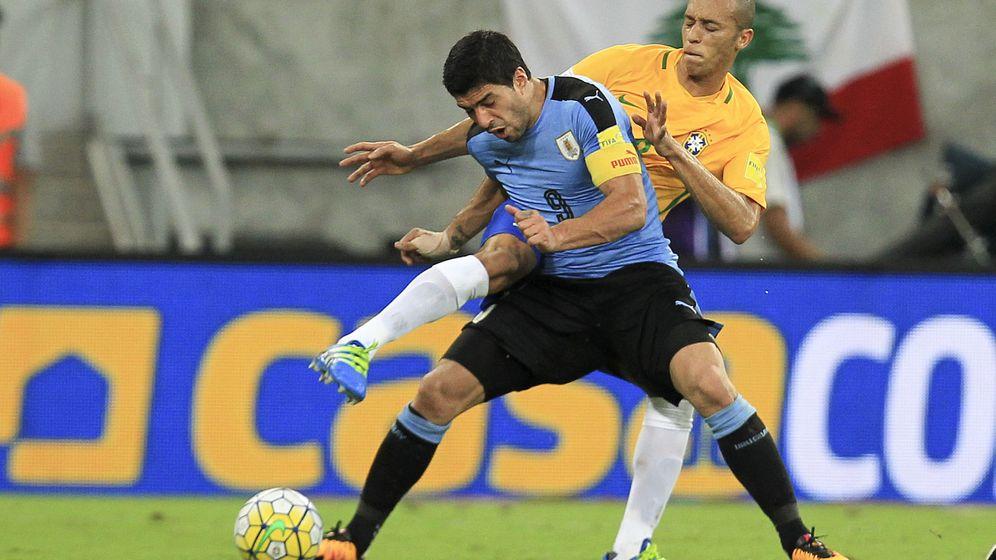 Foto: Brasil - uruguay