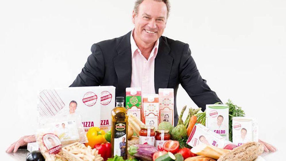Foto: Bertín Osborne con sus productos