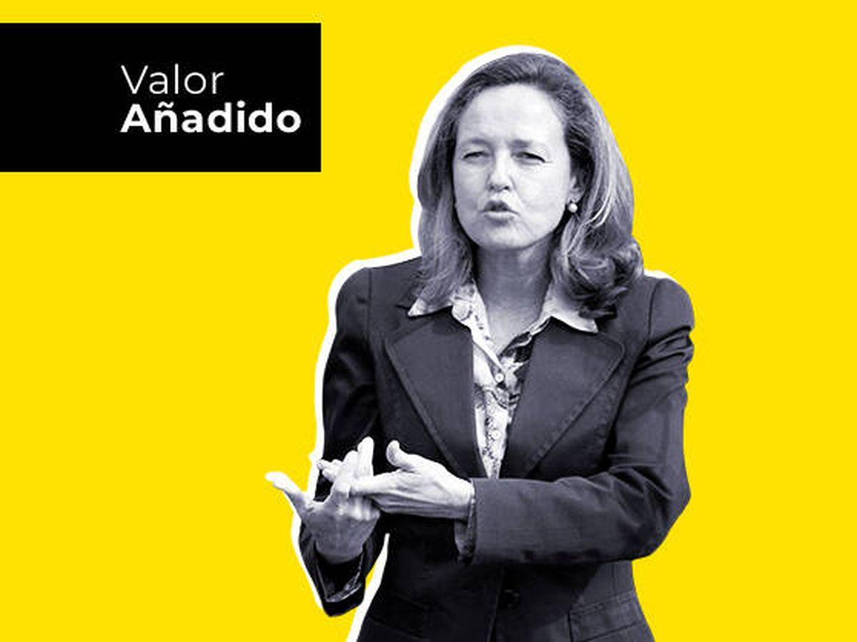 Foto: La ministra de Asuntos Económicos, Nadia Calviño.