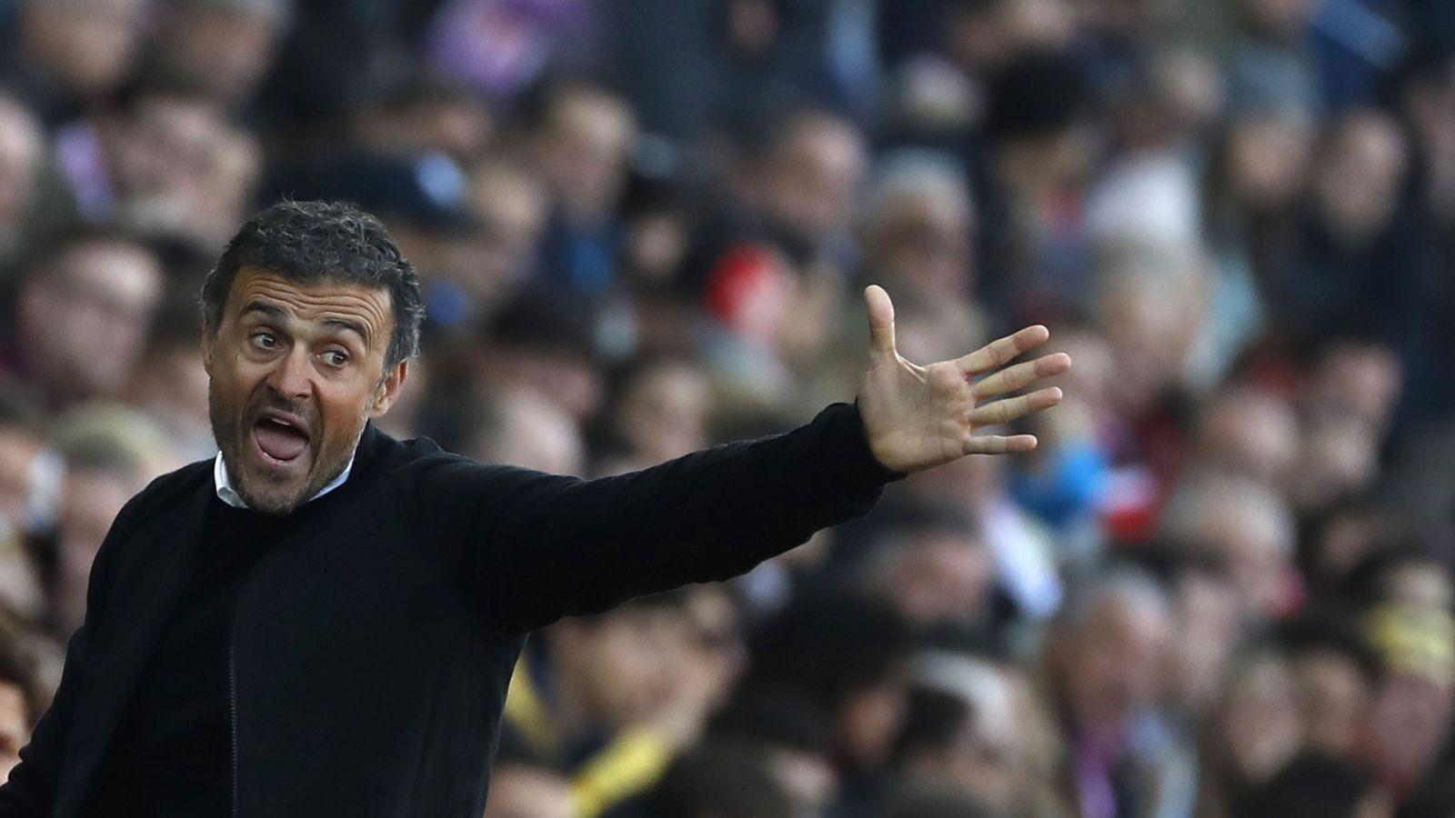 Foto: Luis Enrique anunció que no renovará su contrato con el Barcelona (EFE)