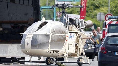 Kalashnikovs, drones y un helicóptero: la fuga del enemigo número uno francés