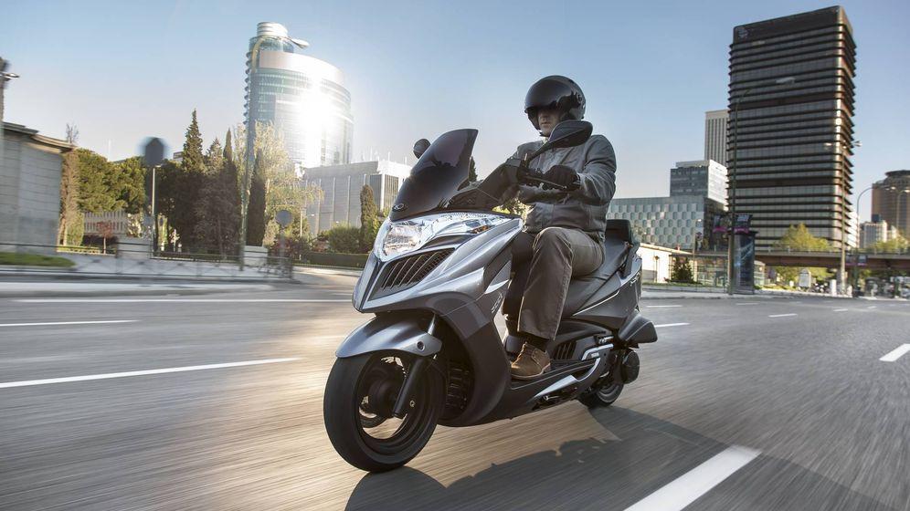 Foto: La moto favorece una circulación más ágil y reduce la contaminación en ciudad.