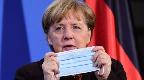 Merkel recibe la primera dosis de la vacuna AstraZeneca contra el covid-19