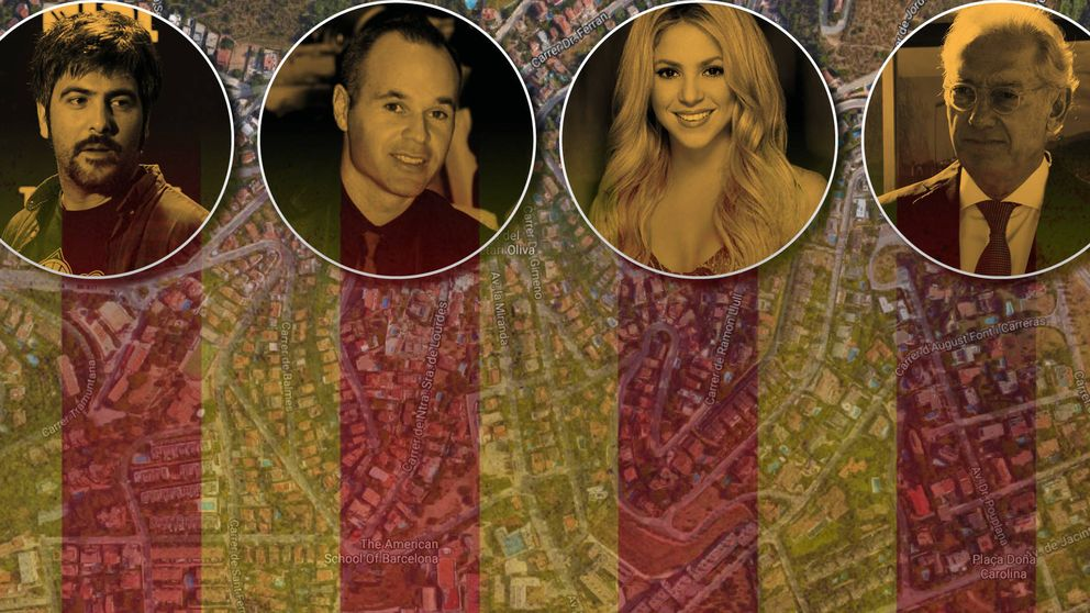Shakira, Andic, Iniesta y los Estopa: en Esplugues, la Moraleja de Barcelona