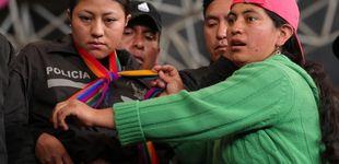 Post de  Los indígenas entregan a la ONU a los policías y periodistas retenidos en Quito
