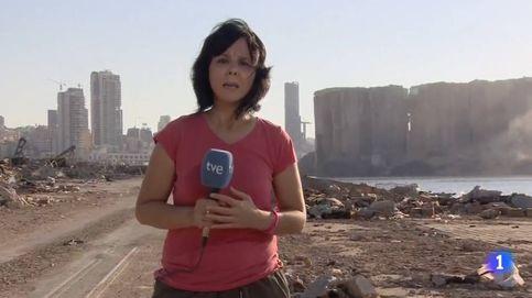 Sin palabras: TVE entra en la zona cero de la explosión en Beirut