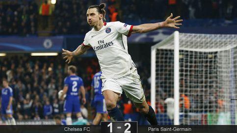 Ibrahimovic, el que nunca aparece en las grandes citas, se carga al Chelsea