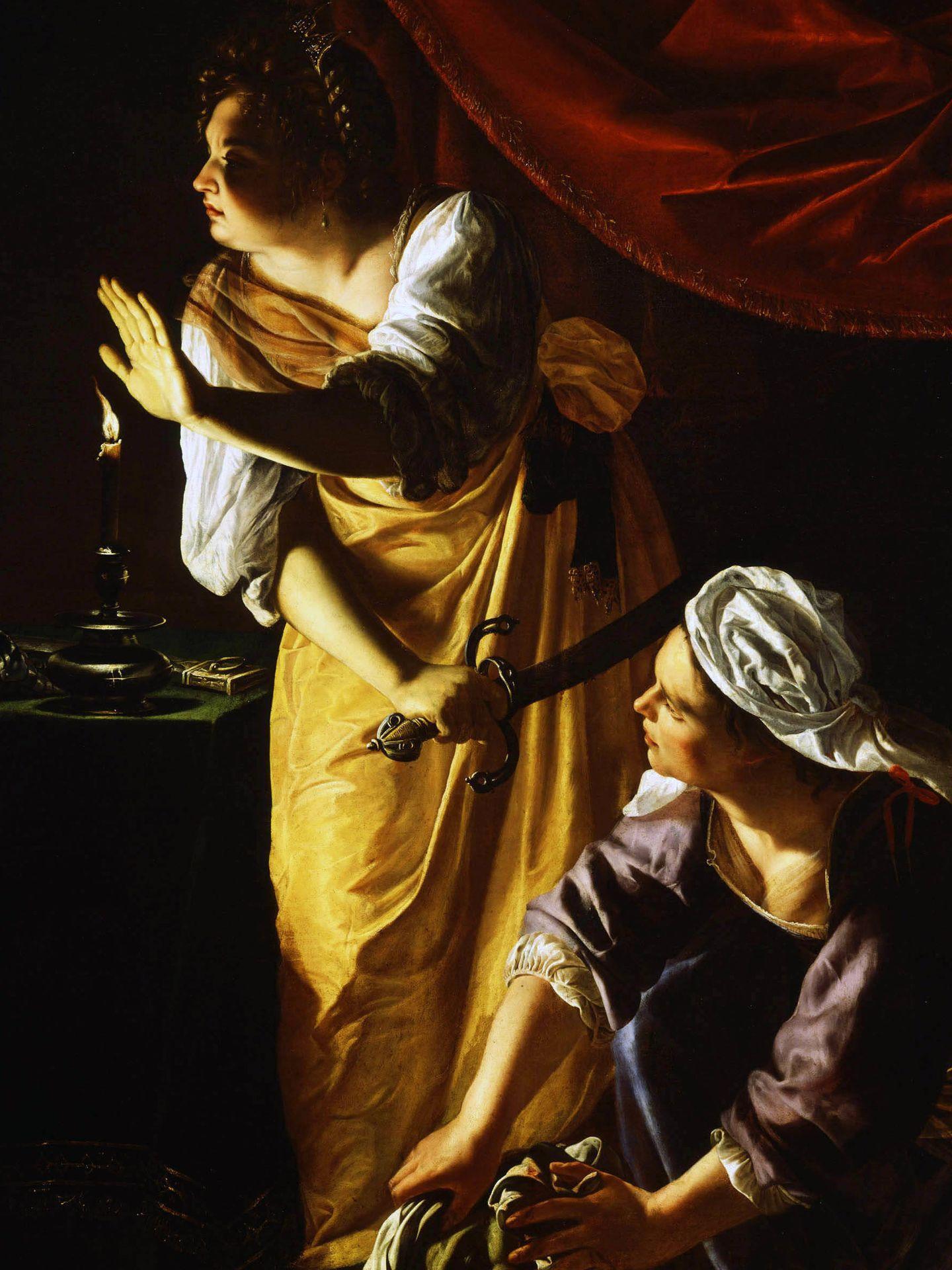 'Judit y su doncella', Artemisia Gentileschi, 1623-25. Detroit Institute of Arts.