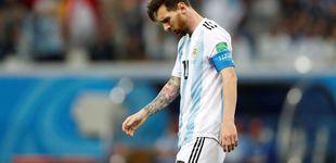 Post de El drama de Messi roza la tragedia con el varapalo sufrido contra Croacia