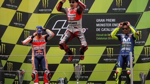 Lorenzo ha vuelto: victoria contundente en Montmeló por delante de Márquez