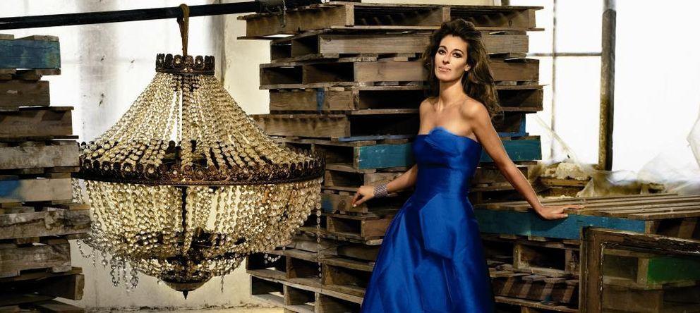 Foto: Mónica Martín Luque posando para un calendario