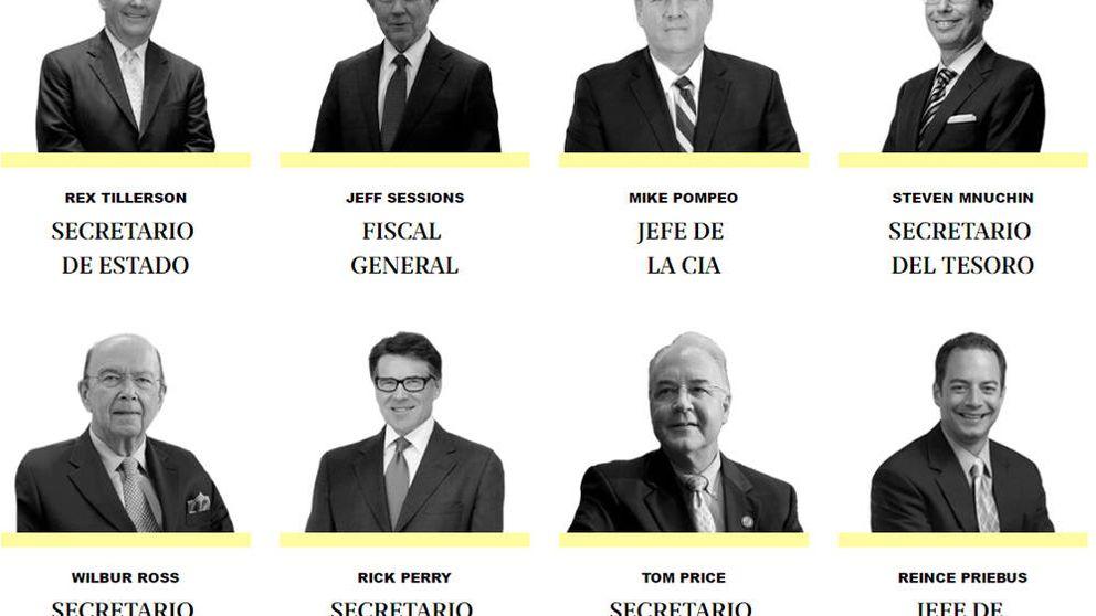 Quién es quién en el gabinete de Donald Trump