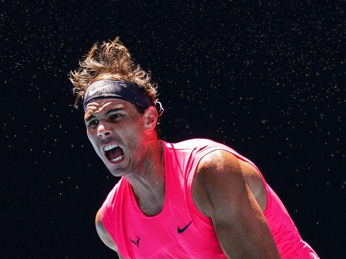 Foto: Rafa Nadal perdió el número 1 del mundo tras la victoria de Novak Djokovic en el Open de Australia. (EFE)