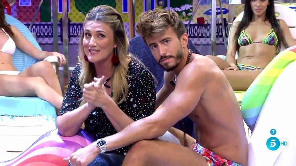 Foto: Carlota Corredera con Marco Ferri.