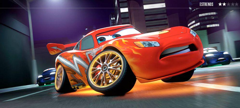 Foto: Fotograma de 'Cars 3'. (Disney/Pixar)