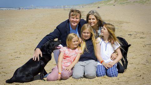 El rey de Holanda y sus hijas, fans del 'fast food' mientras Máxima sigue a dieta