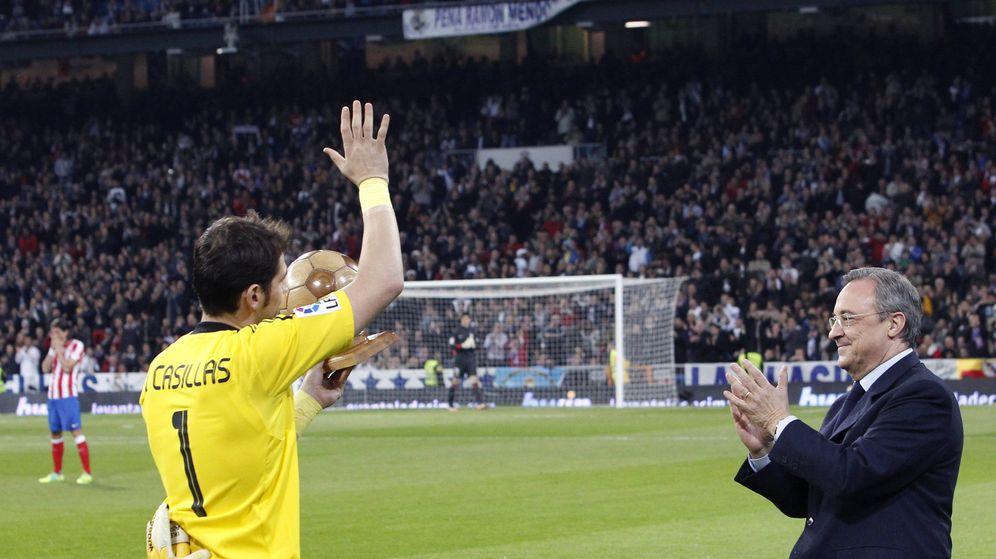 Foto: Casillas ya no es jugador del Real Madrid (Efe)