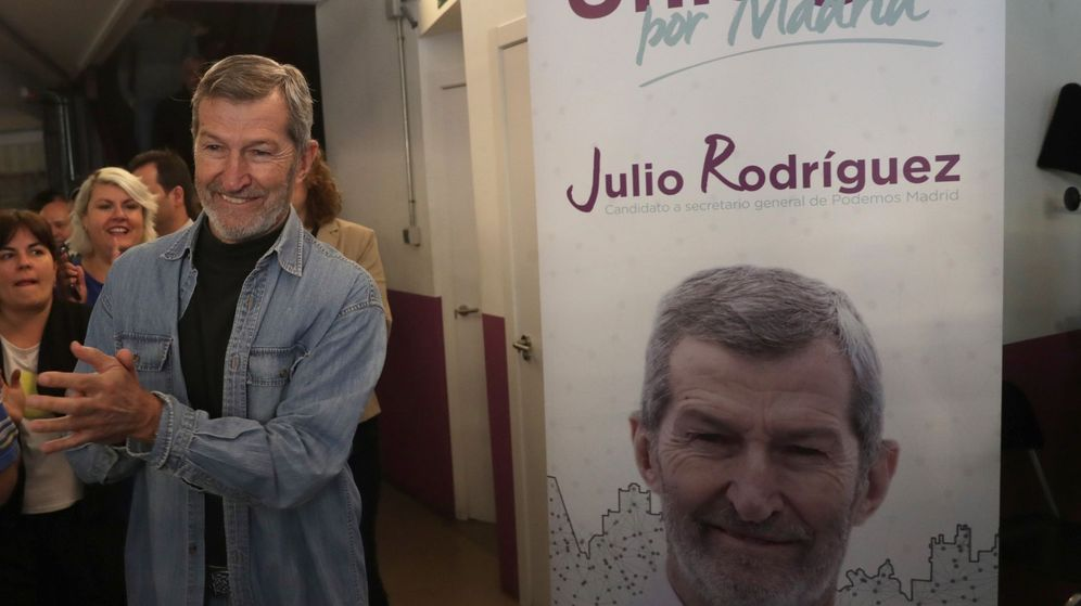 Foto: El ex Jemad Julio Rodríguez, durante un acto de campaña de su candidatura. (EFE)