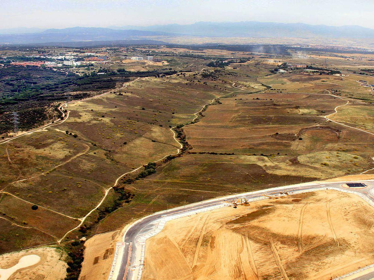 Foto: Vista aérea del ámbito.