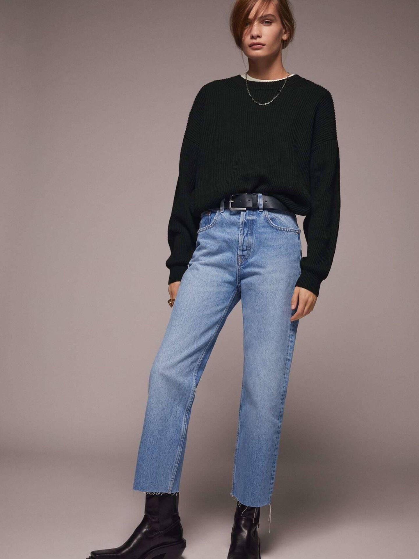 Jeans de Zara. (Cortesía)