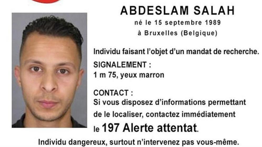 Foto: El terrorista más buscado, Salah Abdeslam