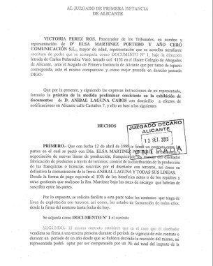 Demanda de Elsa Martínez a Hannibal Laguna (Vanitatis)