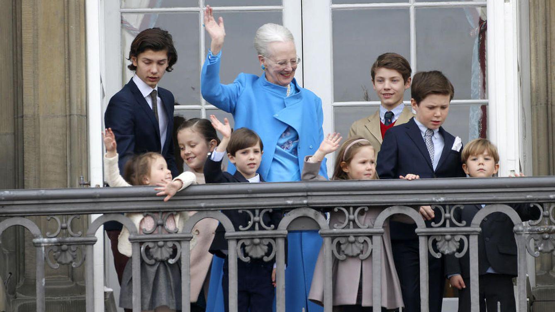 La reina Margarita de Dinamarca celebra su 76 cumpleaños rodeada de sus 8 nietos