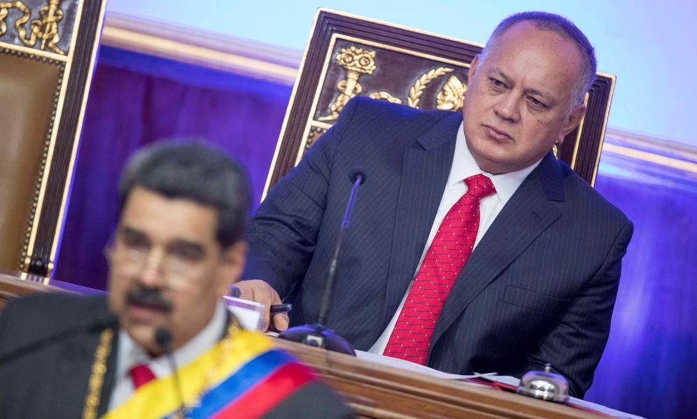Foto: El presidente de Venezuela, Nicolás Maduro, junto a Diosdado Cabello. (EFE)