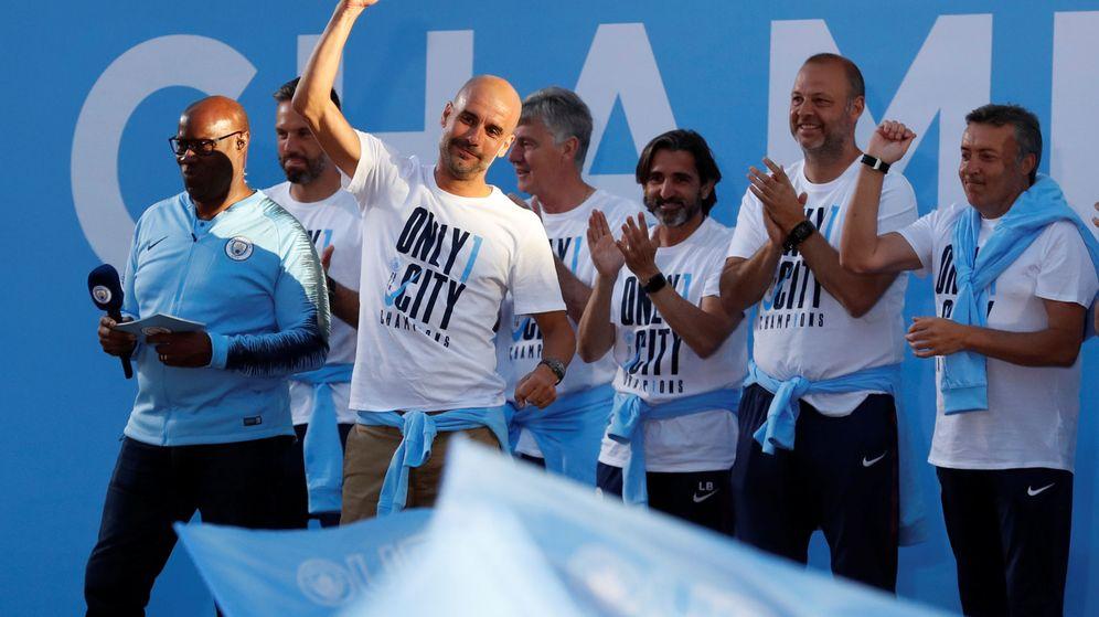 Foto: En dos temporadas en el City, Guardiola ha ganado una Liga y una Copa de la Liga. (Reuters)