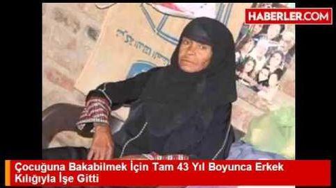 Sisa Abu Daooh, la mujer que tiene que vestirse de hombre para poder trabajar